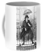 Umbrella, 19th Century Coffee Mug