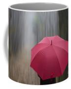 Umbrella And Blur Coffee Mug