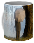 Umbrella And Tree Coffee Mug
