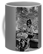 Umbrella Maker Bw Coffee Mug