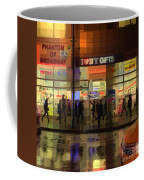 Umbrella Parade - New York In The Rain Coffee Mug
