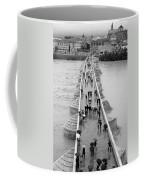 Umbrellas Bw Coffee Mug