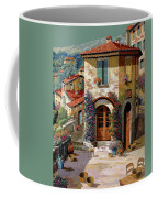 Un Cielo Verdolino Coffee Mug by Guido Borelli