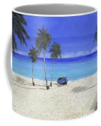 Una Barca Blu Coffee Mug