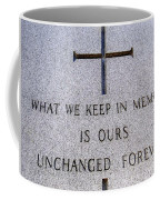 Unchanged Forever Coffee Mug