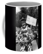 Uncle Harry Clown Drive Carefully  God Bless America Sign Tucson Arizona 1991 Coffee Mug