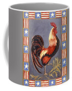 Uncle Sam The Rooster Coffee Mug