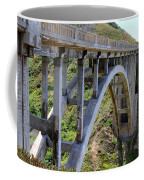Under Bixby Bridge By Diana Sainz Coffee Mug