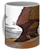 Under Fundy Feet In Big Cove At Hopewell Rocks-new Brunswick Coffee Mug
