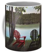 Under Muskoka Trees Coffee Mug
