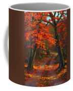 Under The Blazing Canopy Coffee Mug