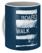Under The Boardwalk Coffee Mug by Linda Woods