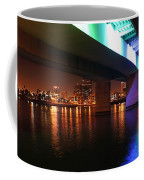 Under The Bridge In Long Beach Coffee Mug
