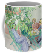 Under The Chestnut Tree Coffee Mug by Carl Larsson