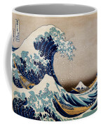 Under The Great Wave Off Kanagawa Coffee Mug