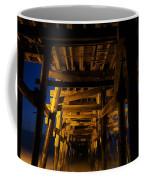 Under The Pier At Night Coffee Mug