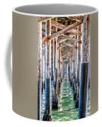 Under The Pier Coffee Mug