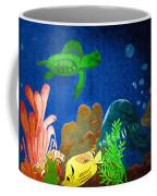 Under The Sea Mural 2 Coffee Mug