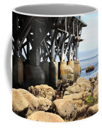 Under The Steinbeck Plaza Overlooking Monterey Bay On Monterey Cannery Row California 5d25050 Coffee Mug