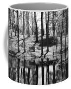 Under The Tall Trees Coffee Mug by Luke Moore