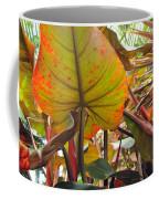 Under The Tropical Leaves Coffee Mug