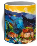 Under The Tuscan Sky Coffee Mug by Elise Palmigiani