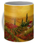 Under The Tuscan Sun Coffee Mug by Darice Machel McGuire