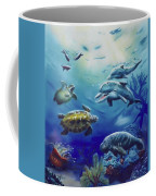 Under Water Antics Coffee Mug