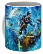 Under Water Coffee Mug by Leonid Afremov