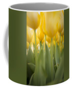 Under Yellow Tulips Coffee Mug