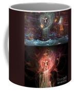 Undersea Angels Red Coffee Mug