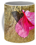 Underwater Bubbles On Petal Coffee Mug