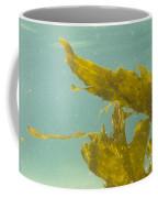 Underwater Shot Of Seaweed Plant Floating Leaves Coffee Mug