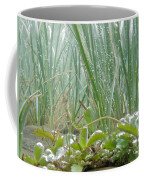 Underwater Shot Of Submerged Grass And Plants Coffee Mug