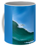 Underwater Shot Through Surface Color Abstract Coffee Mug