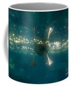 Underwater View Of Duck's Webbed Feet Coffee Mug