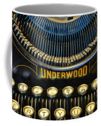 Underwood Typewriter Coffee Mug