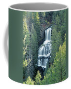 109008-undine Falls In Yellowstone Coffee Mug