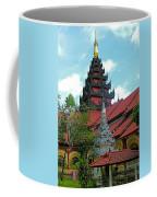 Unfinished Temple In Tachilek-burma Coffee Mug