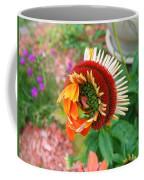 Unfolding Coneflower Coffee Mug