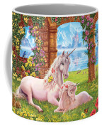 Unicorn Mother And Foal Coffee Mug