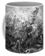 Union Charge At The Battle Of Gettysburg Coffee Mug