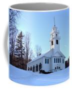 Union Meeting House In West Newbury Vermont Coffee Mug