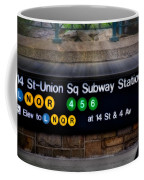 Union Square Subway Station Coffee Mug by Susan Candelario