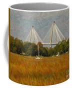 Unique Bridge View Coffee Mug
