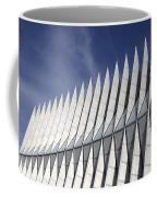 United States Airforce Academy Chapel Colorado Coffee Mug