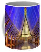 United States Airforce Academy Chapel Interior Coffee Mug