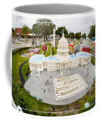 United States Capital Building At Legoland Coffee Mug