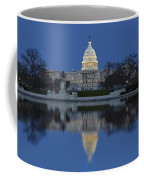 United States Capitol Building Coffee Mug by Susan Candelario