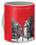 University Of Georgia - Georgia Arch - Red Coffee Mug